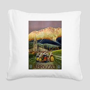 abruzzo - anonymous - circa 1920 - poster Square C
