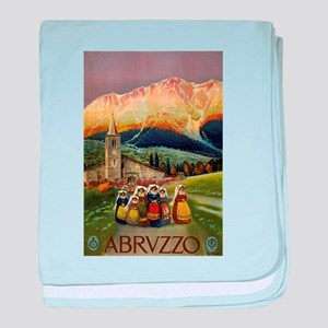 abruzzo - anonymous - circa 1920 - poster baby bla