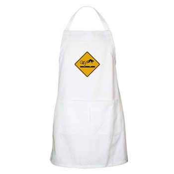 Warning MAX Tracks, Portland - OR BBQ Apron