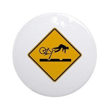 Warning MAX Tracks, Portland - OR Ornament (Round)
