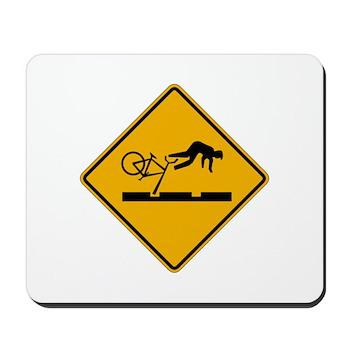 Warning MAX Tracks, Portland - OR Mousepad