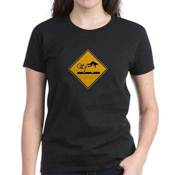 Warning MAX Tracks, Portland - OR Women's Dark T-S