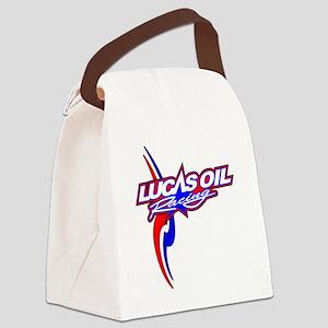 Lucas Oil Racing Canvas Lunch Bag