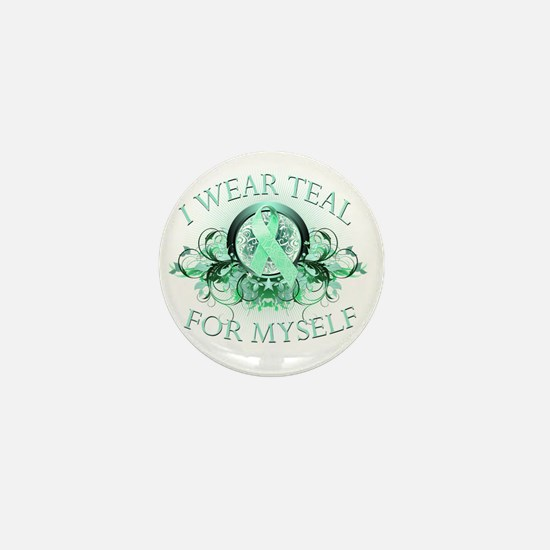 I Wear Teal for Myself Mini Button