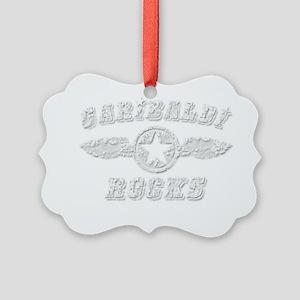 GARIBALDI ROCKS Picture Ornament
