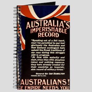 australias imperishable record - anonymous - 1915