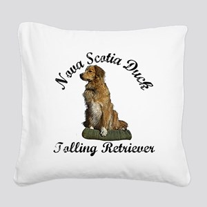 toller Square Canvas Pillow