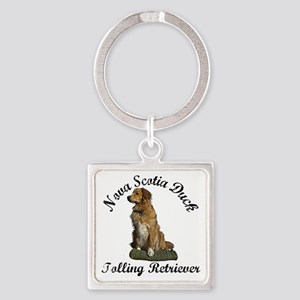 toller Square Keychain