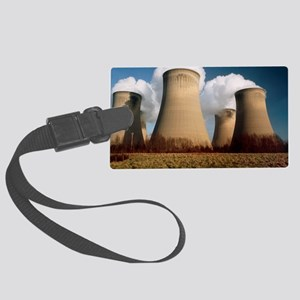 Coal fired power station Large Luggage Tag