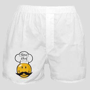 Head Chef Smiley Boxer Shorts