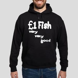 one pound fish Hoodie (dark)