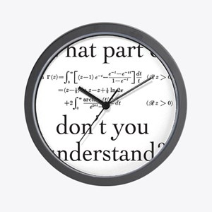 What Part of... Wall Clock