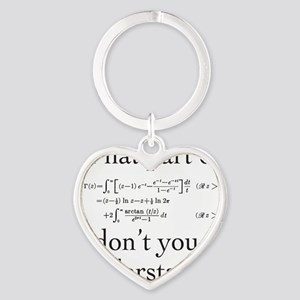 What Part of... Heart Keychain