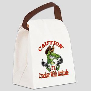 Florida Cracker With Attitude Canvas Lunch Bag