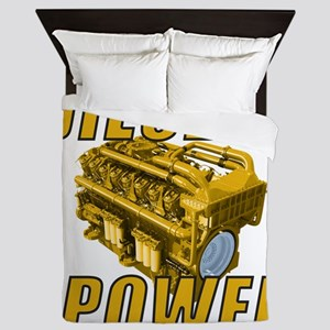 Diesel Powered Queen Duvet