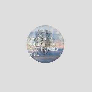 2013 January Calendar Quotes + Art Mini Button