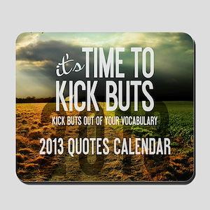 2013 Calendar Quotes + Art Mousepad