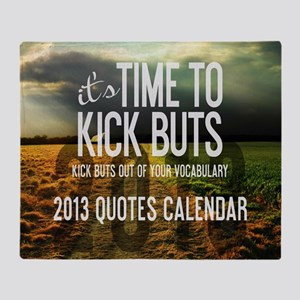 2013 Calendar Quotes + Art Throw Blanket