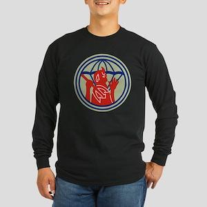 504th PIR REG (WWII) Long Sleeve T-Shirt