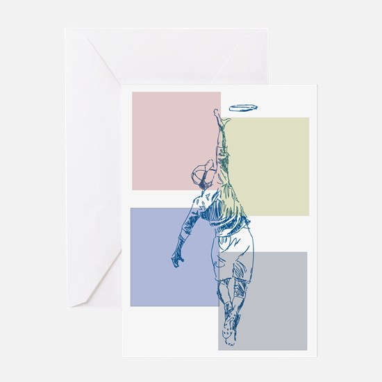 SketchySky with Blocks Greeting Card