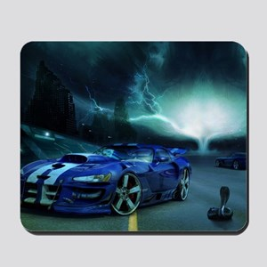 FASTER THAN LIGHTENING Mousepad