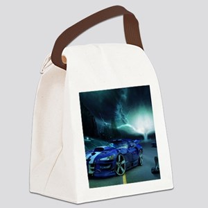 FASTER THAN LIGHTENING Canvas Lunch Bag