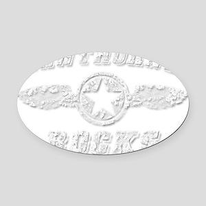 HAWTHORNE ROCKS Oval Car Magnet