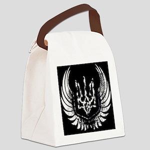 Trident tryzub Canvas Lunch Bag