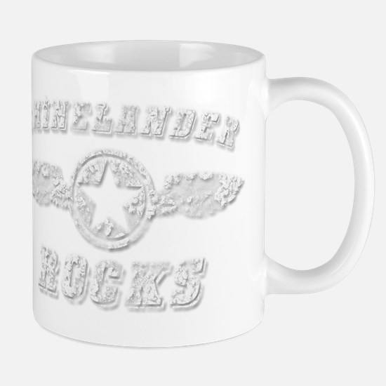 RHINELANDER ROCKS Mug