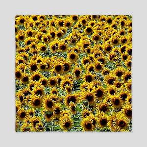 Sunflower Power Queen Duvet
