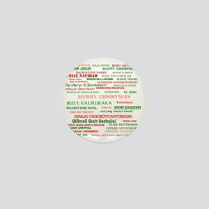 Many Merry Christmases Mini Button