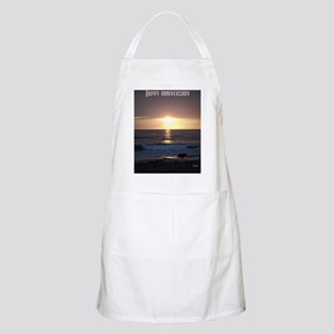 Happy Anniversary Apron