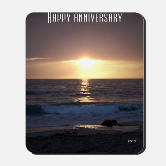 Happy Anniversary Mousepad