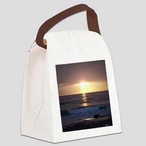 Happy Anniversary Canvas Lunch Bag