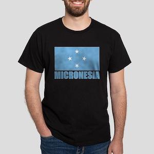 Micronesia Flag Dark T-Shirt
