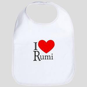 I Love Rumi Bib