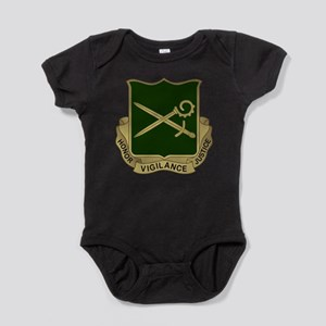 385th MP Battalion Crest Baby Bodysuit