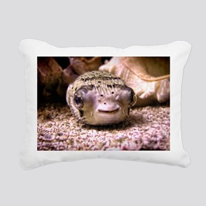 Blowfish Rectangular Canvas Pillow