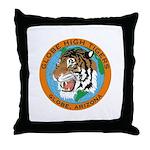 Tiger Den Throw Pillow