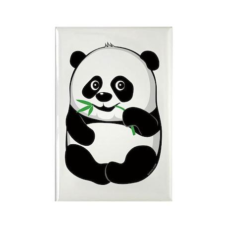 Baby Panda Rectangle Magnet (10 pack)