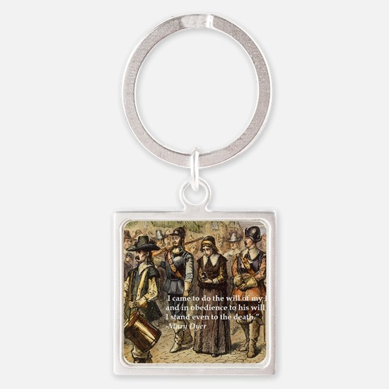 Mary Dyer Square Keychain