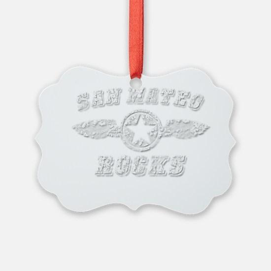 SAN MATEO ROCKS Ornament