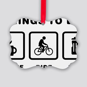 Bicycle-Rider-ABH1 Picture Ornament