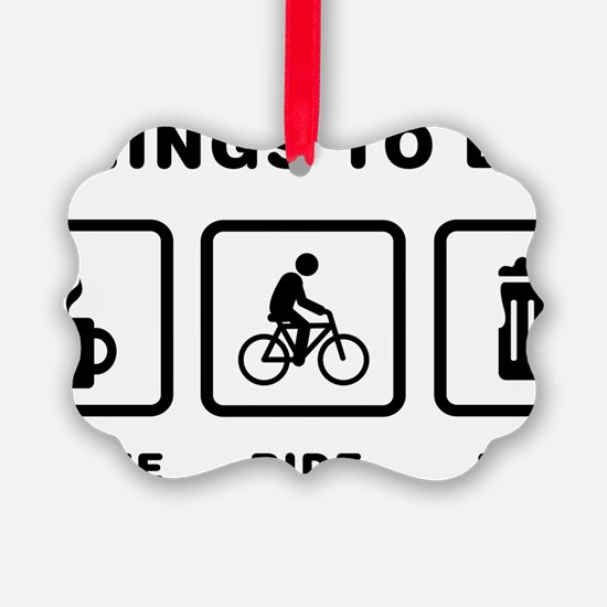 Bicycle-Rider-ABH1 Ornament