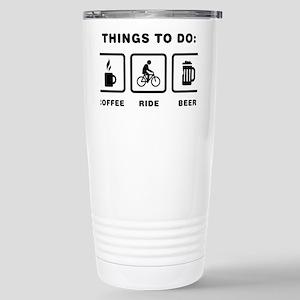 Bicycle-Rider-ABH1 Stainless Steel Travel Mug
