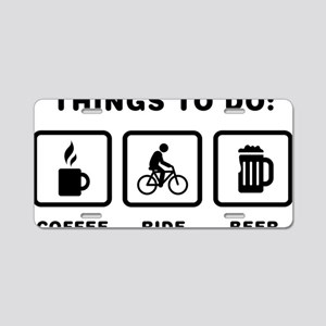 Bicycle-Rider-ABH1 Aluminum License Plate