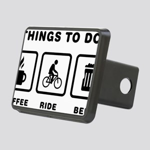 Bicycle-Rider-ABH1 Rectangular Hitch Cover