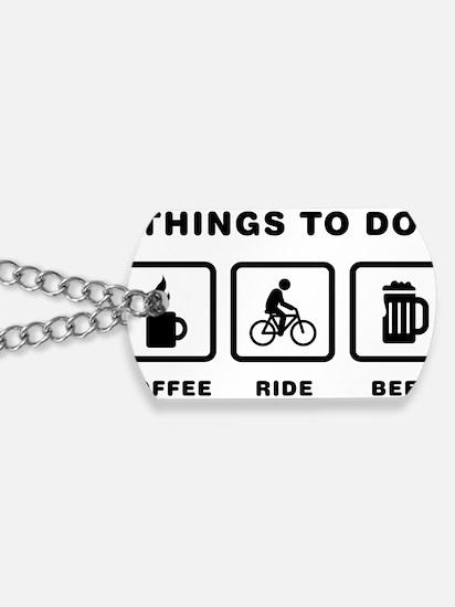 Bicycle-Rider-ABH1 Dog Tags