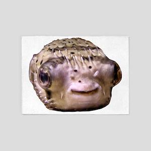 Blowfish 5'x7'Area Rug