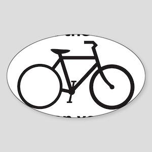 bike Sticker (Oval)